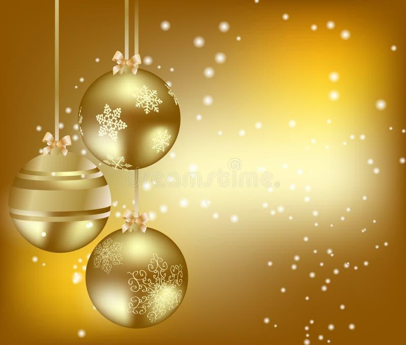 Download Abstrakter Schönheit Weihnachtshintergrund. Vektor Abbildung - Illustration von dekoration, orange: 26366026