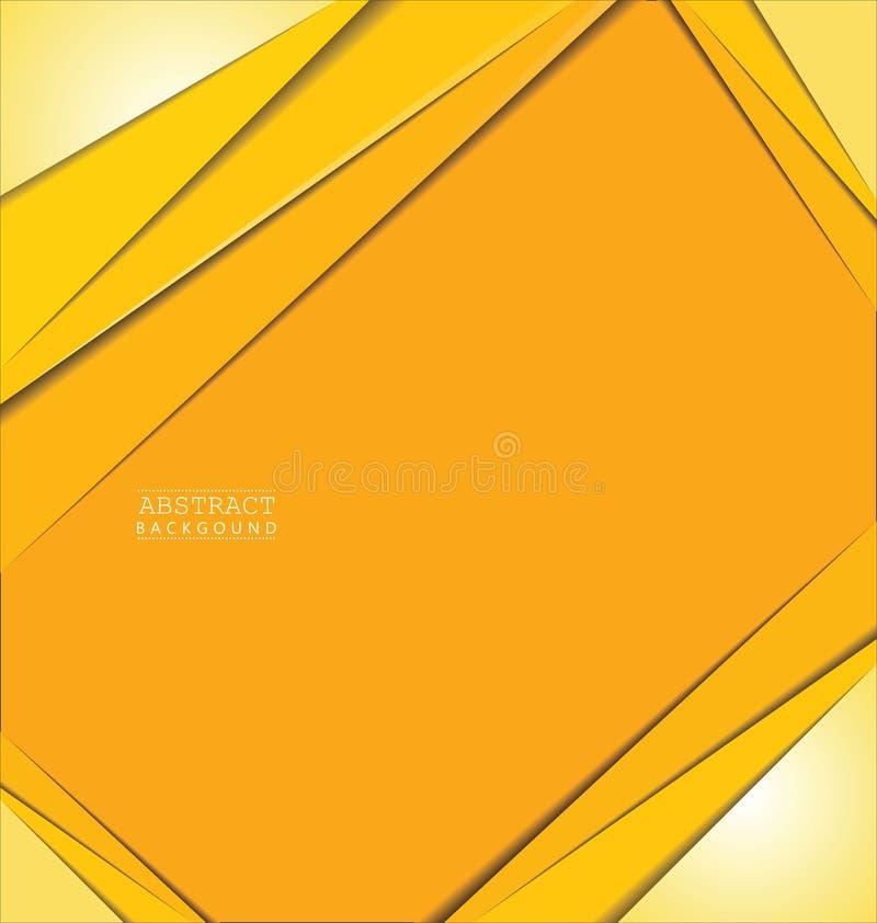 Abstrakter Schichtvektorhintergrund mit Raum für Text und Design stock abbildung