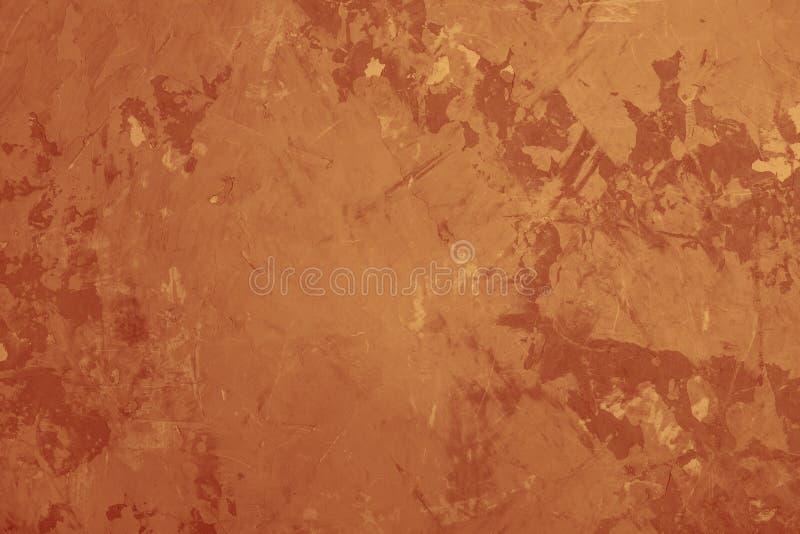 Abstrakter Schmutzbraunbetonmauer-Beschaffenheitshintergrund lizenzfreies stockbild