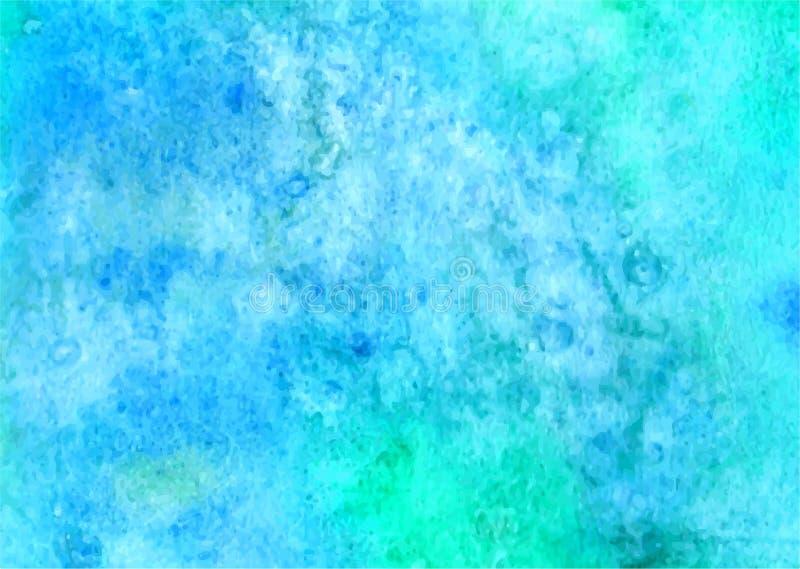 Abstrakter Schmutzklecks Abstrakter Handfarbenquadrat-Fleckhintergrund vektor abbildung