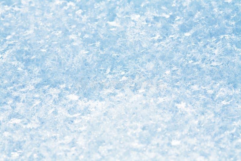 Abstrakter Schneehintergrund stockfotografie
