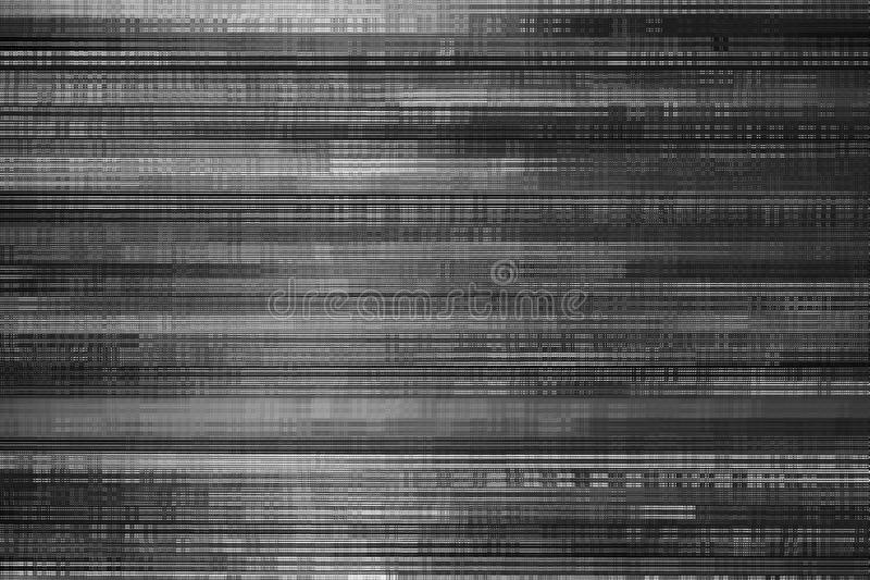 Abstrakter schwarzer Fractal stockfoto