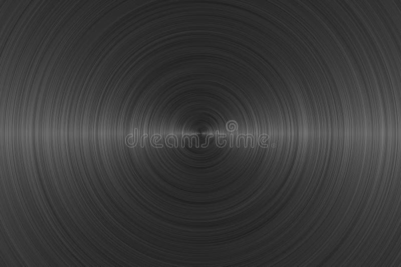 Abstrakter schwarzer Hintergrund lizenzfreie abbildung