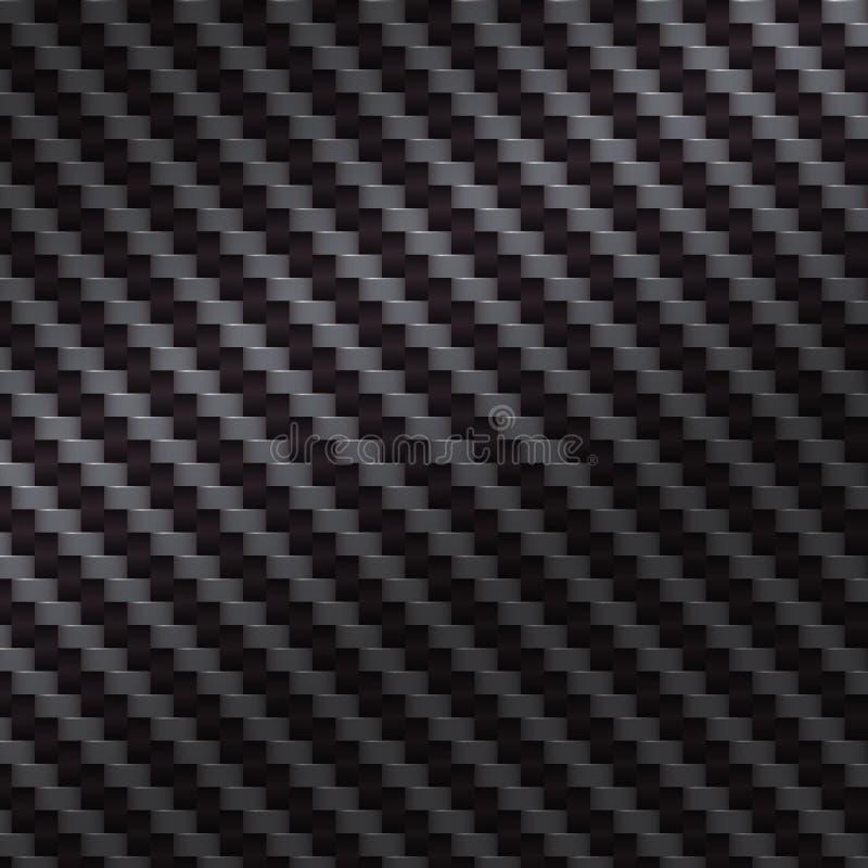 Abstrakter schwarzer Kohlenstoffhintergrund Vektor vektor abbildung
