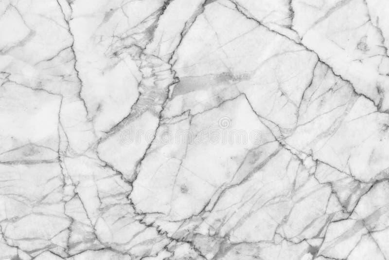 Abstrakter Schwarzweiss-Marmor kopierte Beschaffenheitshintergrund (der natürlichen Muster) stockfotos