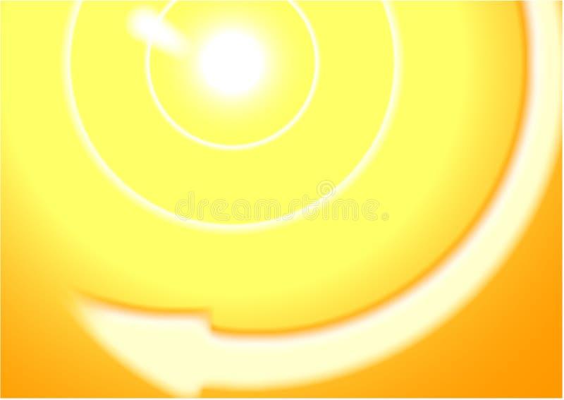 Abstrakter Sonnehintergrund lizenzfreie stockfotografie