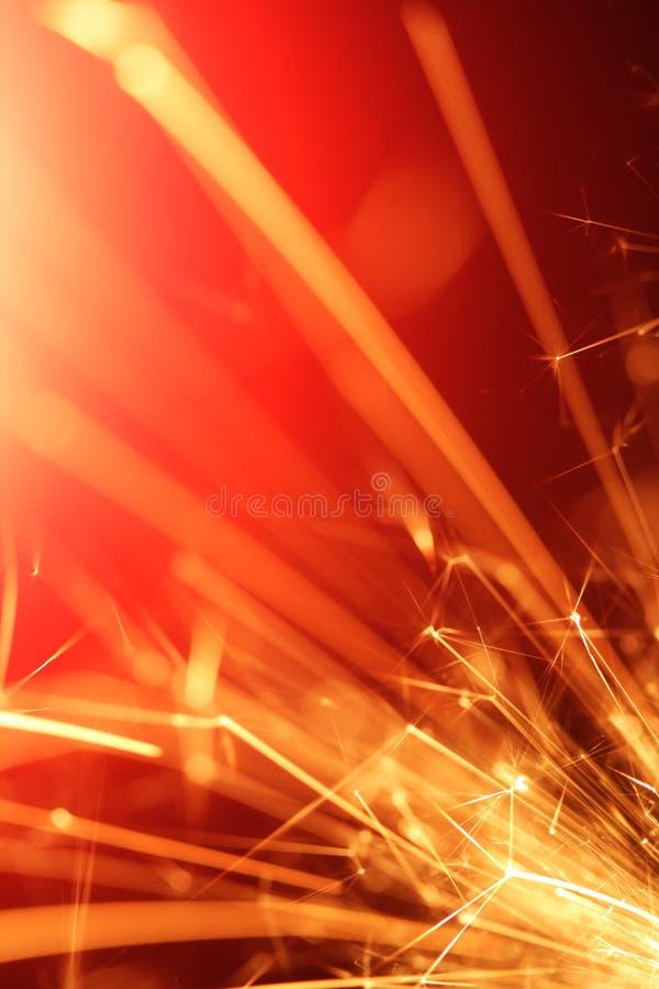 Abstrakter Sparkler stockfotografie