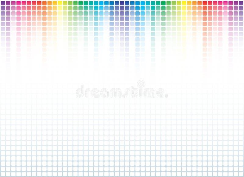 Abstrakter Spektrum-Hintergrund vektor abbildung