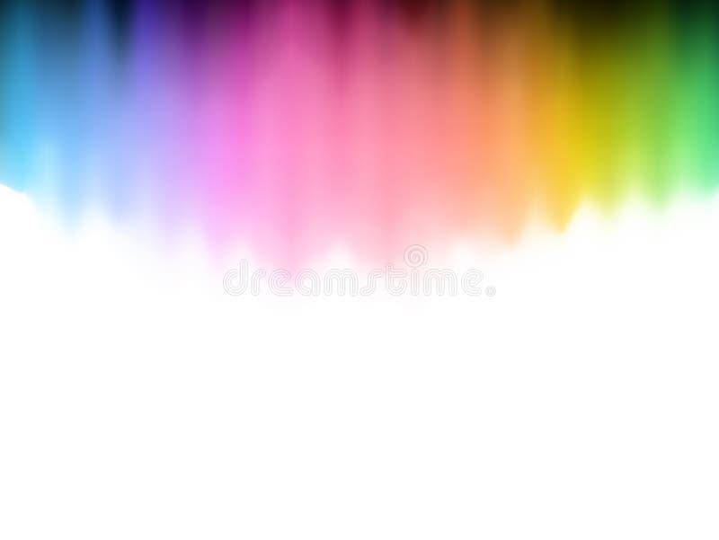 Abstrakter Spektrumhintergrund vektor abbildung
