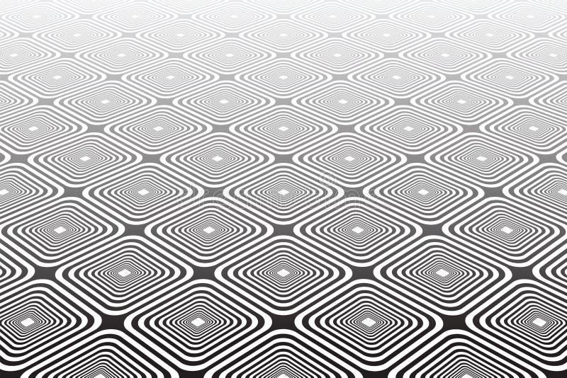 Abstrakter strukturierter geometrischer diagonaler Hintergrund. stock abbildung