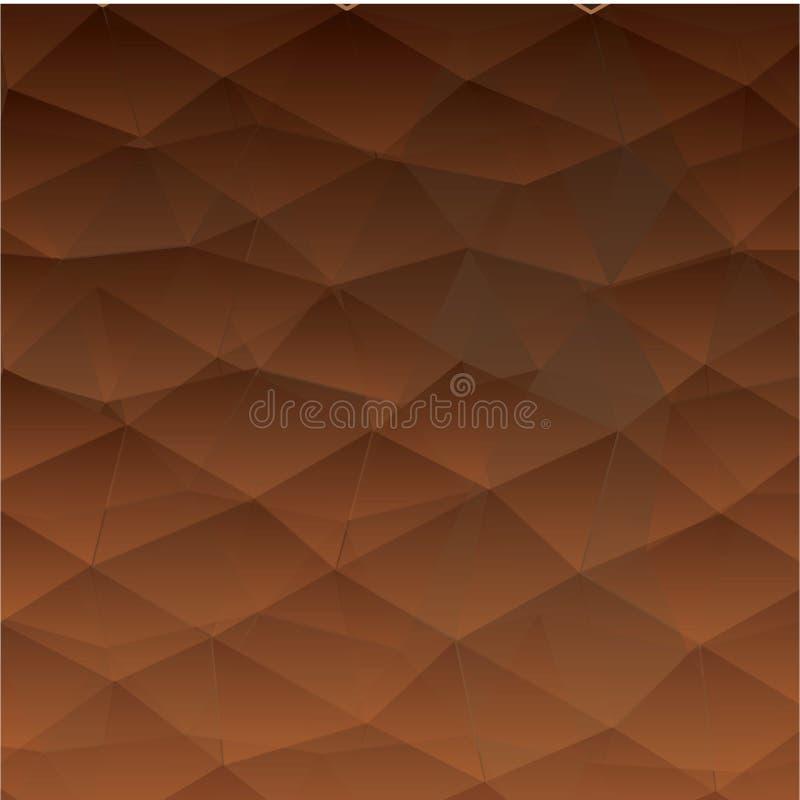 Abstrakter strukturierter polygonaler Hintergrund - Datei des Vektor vektor abbildung
