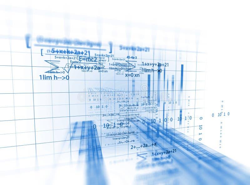 Abstrakter Technologiehintergrund des Programmiercodes des Software-Entwicklers stock abbildung