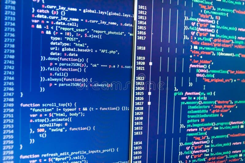 Abstrakter IT-Technologiehintergrund Revolution der neuen Technologie lizenzfreie abbildung