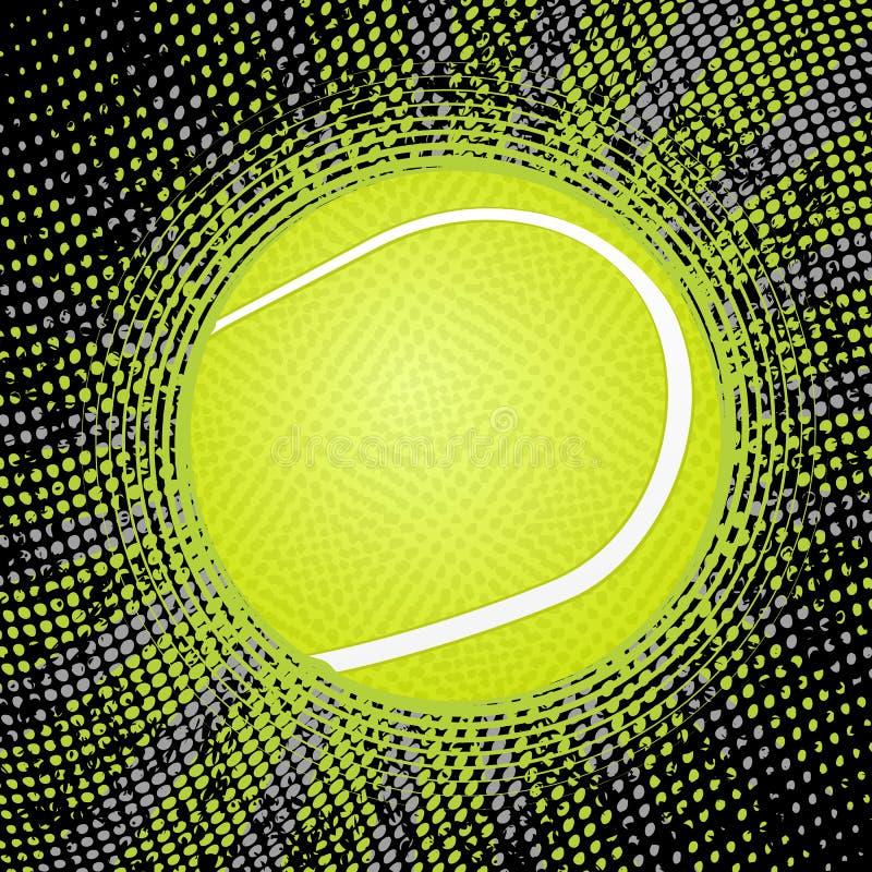 Abstrakter Tennishintergrund vektor abbildung