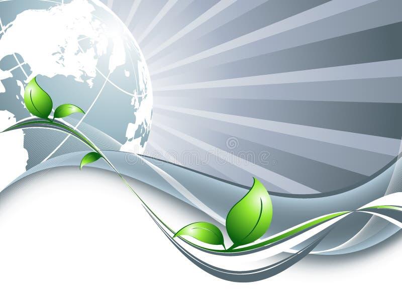 Abstrakter Umwelthintergrund vektor abbildung