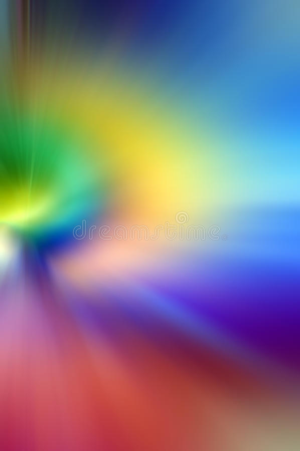Abstrakter undeutlicher bunter Hintergrund vektor abbildung
