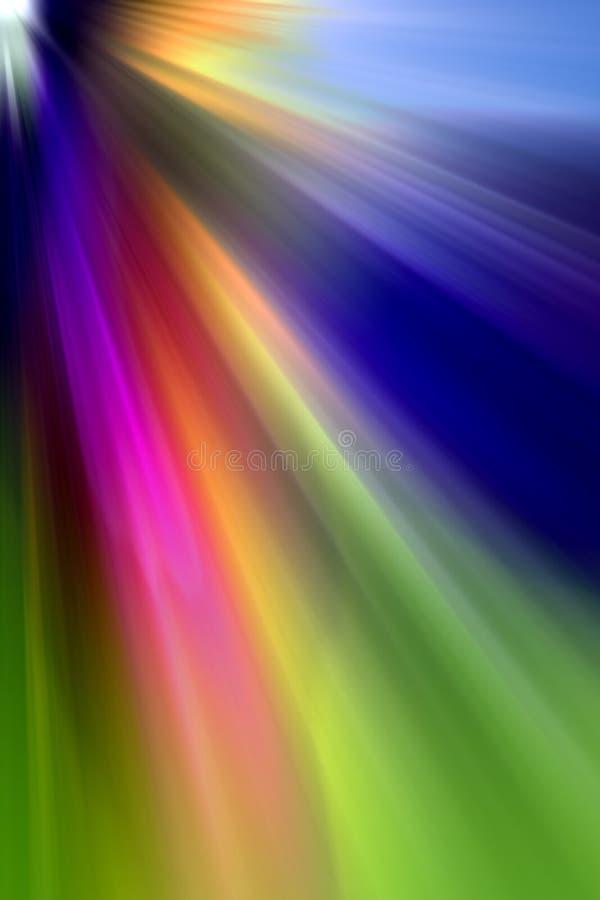 Abstrakter undeutlicher Hintergrund gebildet von vielen Farben stock abbildung