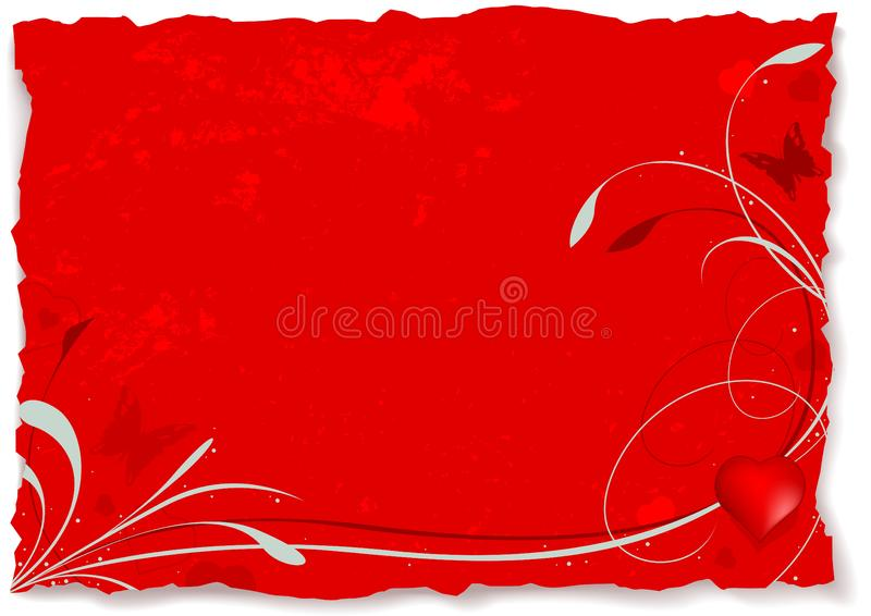 Abstrakter Valentinsgruß A Kostenlose Stockfotos