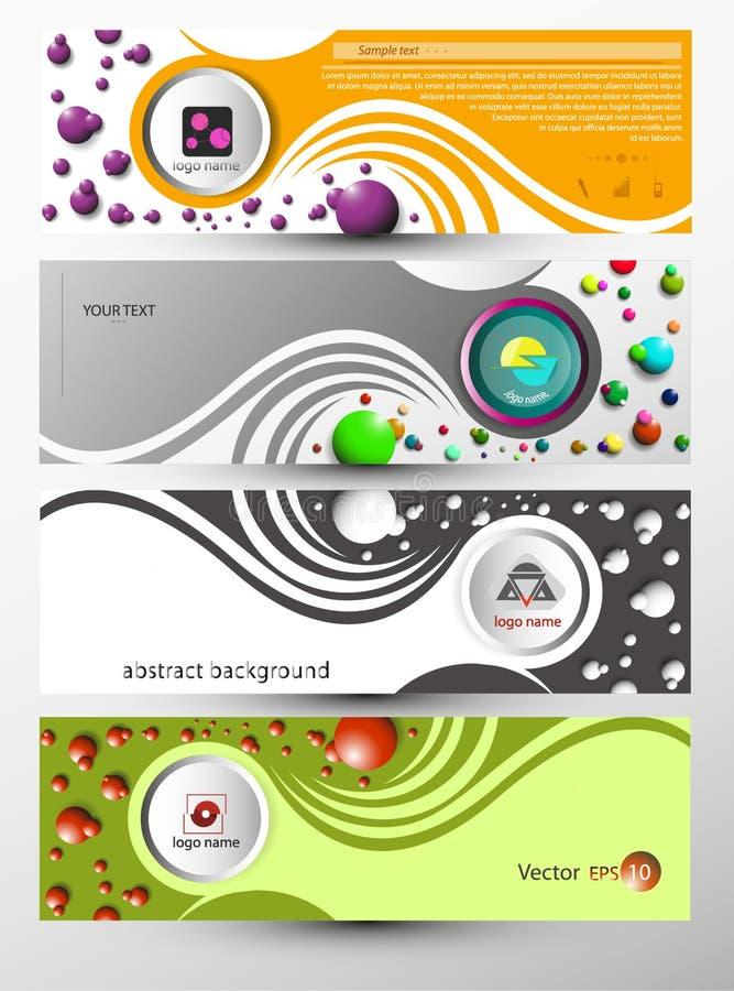 Download Abstrakter Vektorfahnen- Und -standortname Vektor Abbildung - Illustration von kugel, auszug: 96930281
