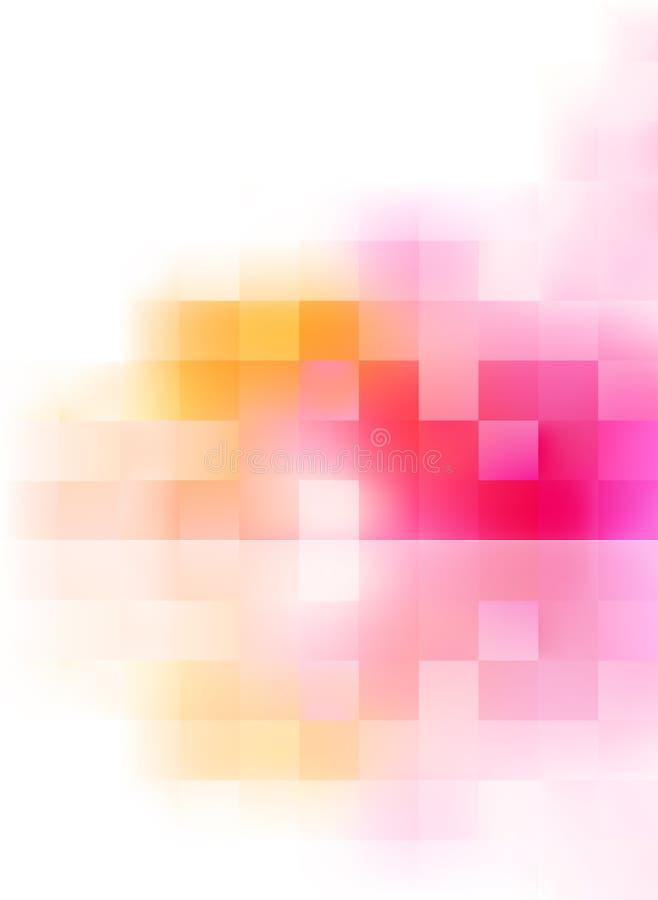 Abstrakter vektorhintergrund stock abbildung