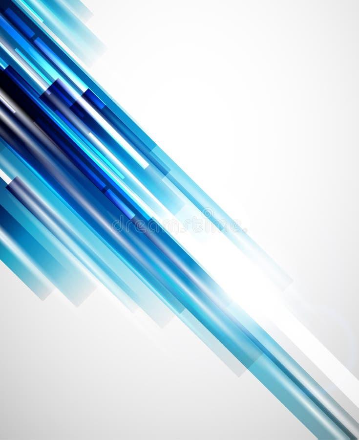 Abstrakter Vektorhintergrund der Geraden vektor abbildung