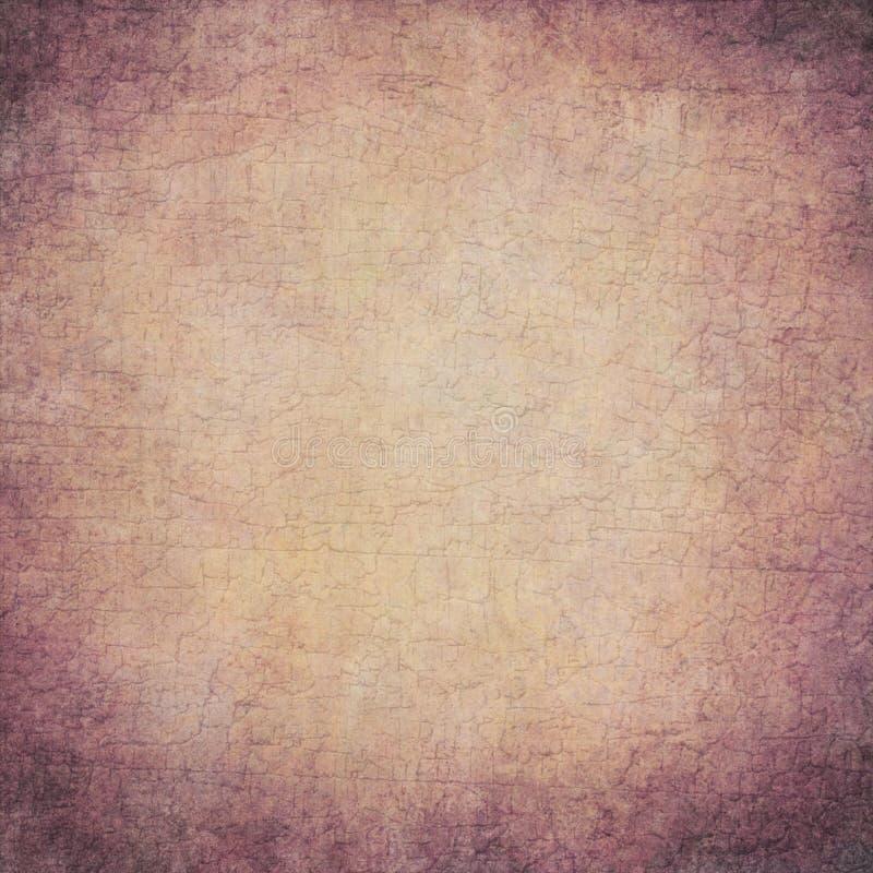 Abstrakter violetter gebrochener handgemalter Hintergrund stockbild