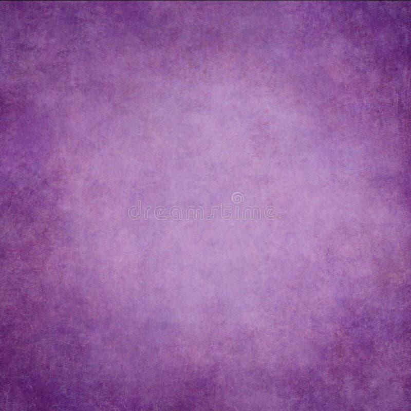 Abstrakter violetter handgemalter Weinlesehintergrund lizenzfreies stockfoto