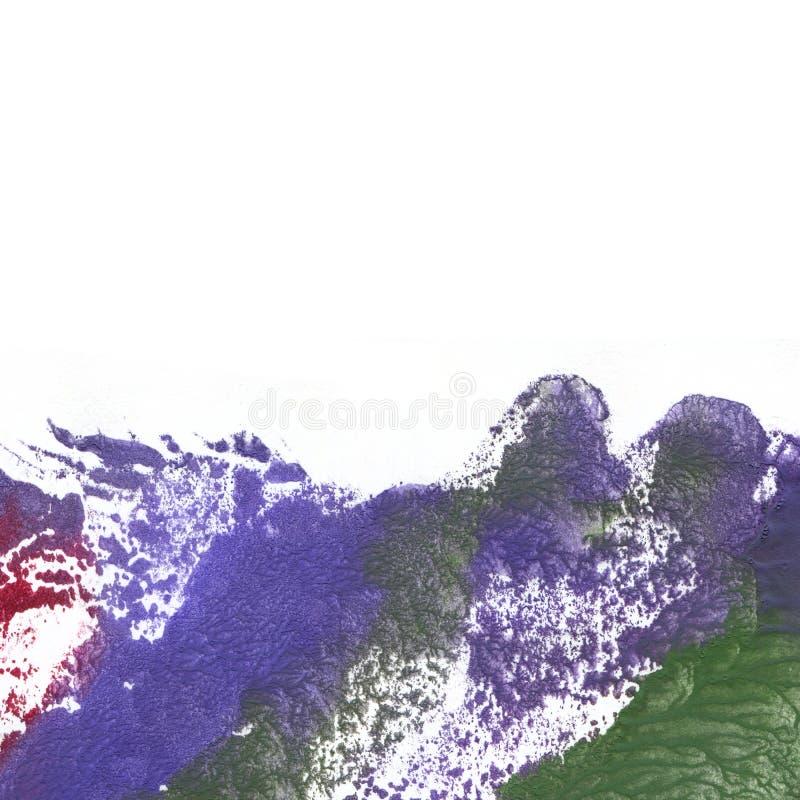 Abstrakter violetter und rosa Aquarellhintergrund lizenzfreie stockbilder