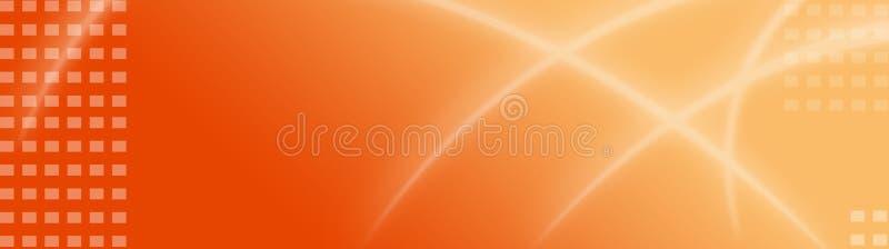 Abstrakter Web-Vorsatz/Fahne vektor abbildung