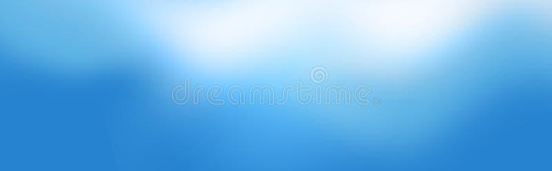 Abstrakter Web-Vorsatz/Fahne stock abbildung