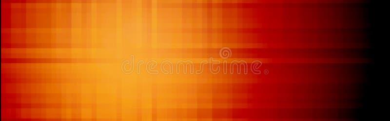 Abstrakter Web-Vorsatz/Fahne lizenzfreie abbildung