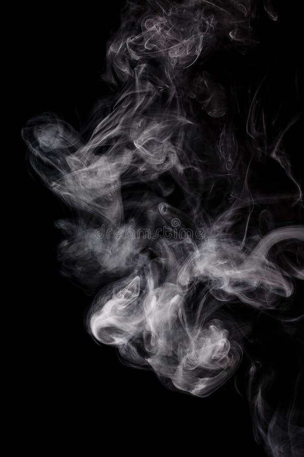 Abstrakter weißer Rauch Weipa stockfotos