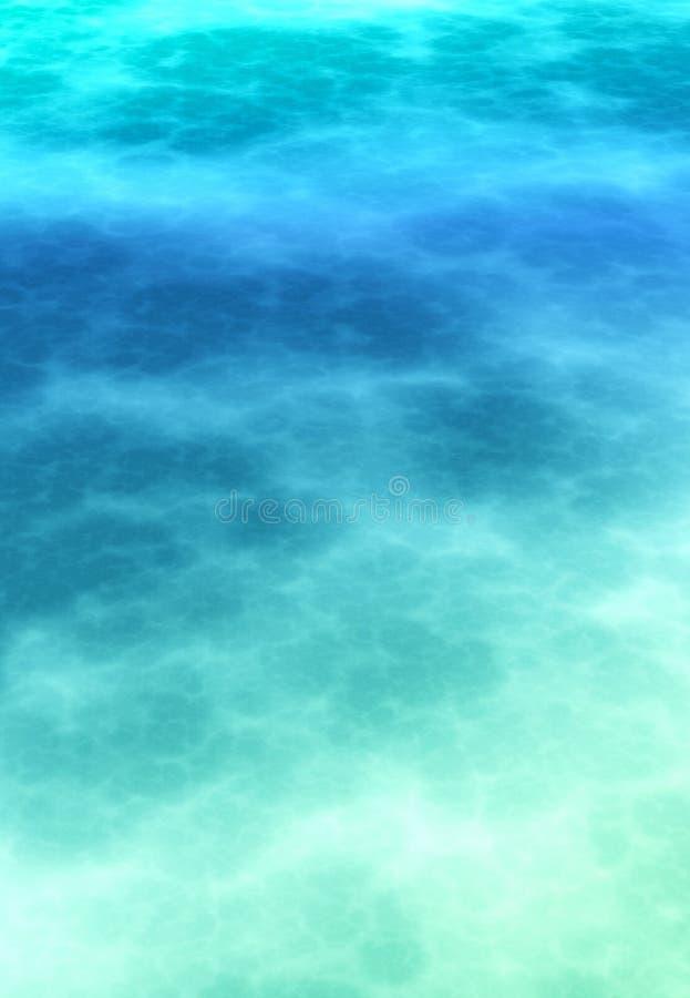 Abstrakter weicher atmosphärischer Hintergrund des cerulean Blaus lizenzfreies stockfoto