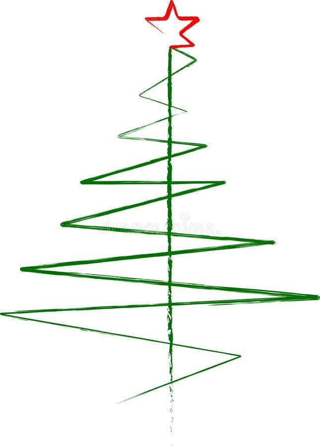 abstrakter weihnachtsbaum zeichen symbol. Black Bedroom Furniture Sets. Home Design Ideas