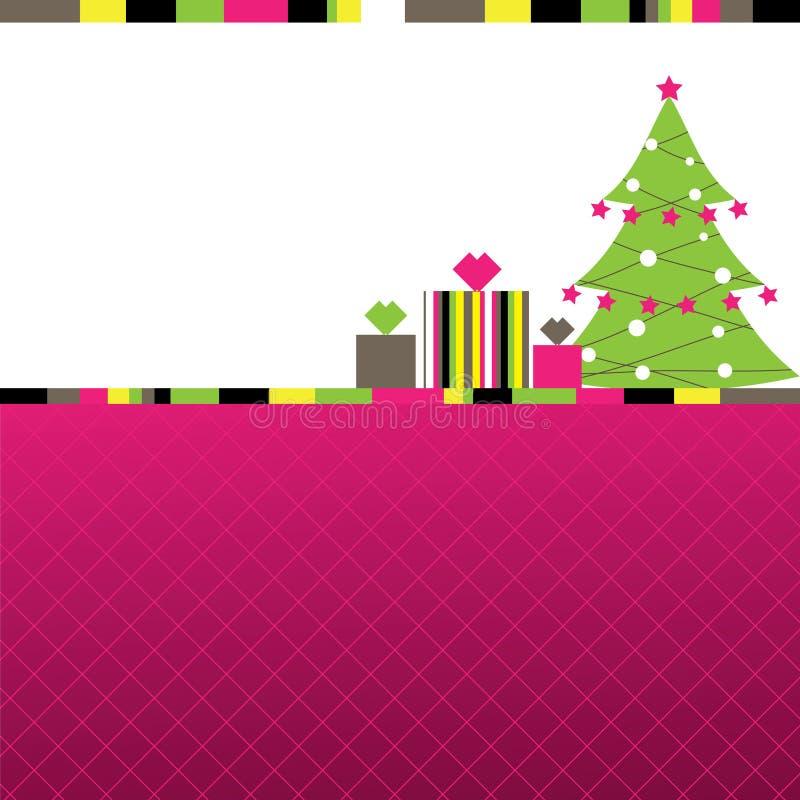 Abstrakter Weihnachtshintergrund. Abbildung stock abbildung