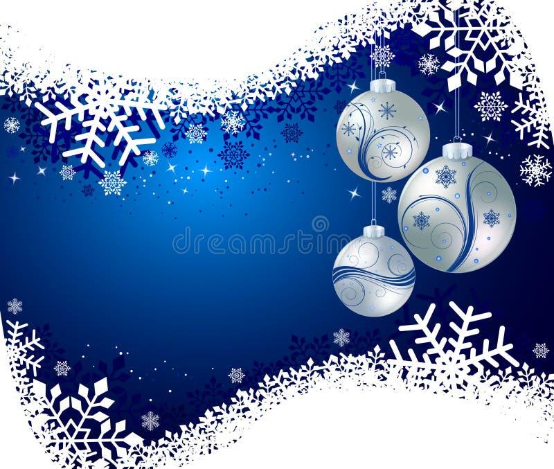 Abstrakter Weihnachtshintergrundvektor lizenzfreie abbildung