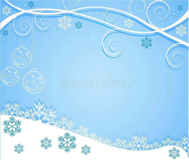 Abstrakter Weihnachtshintergrundvektor vektor abbildung