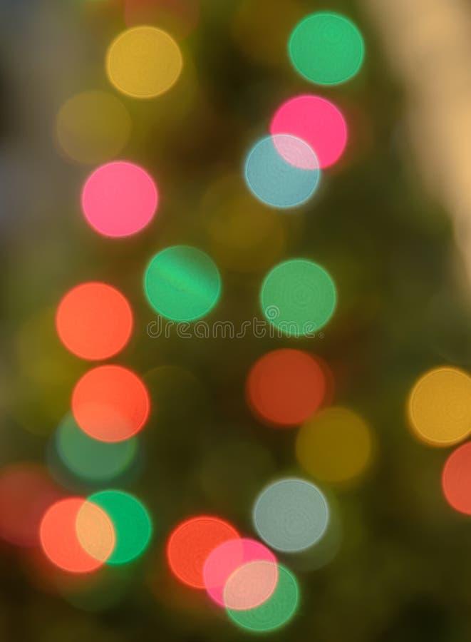Abstrakter Weihnachtsleuchten bokeh Hintergrund lizenzfreies stockbild