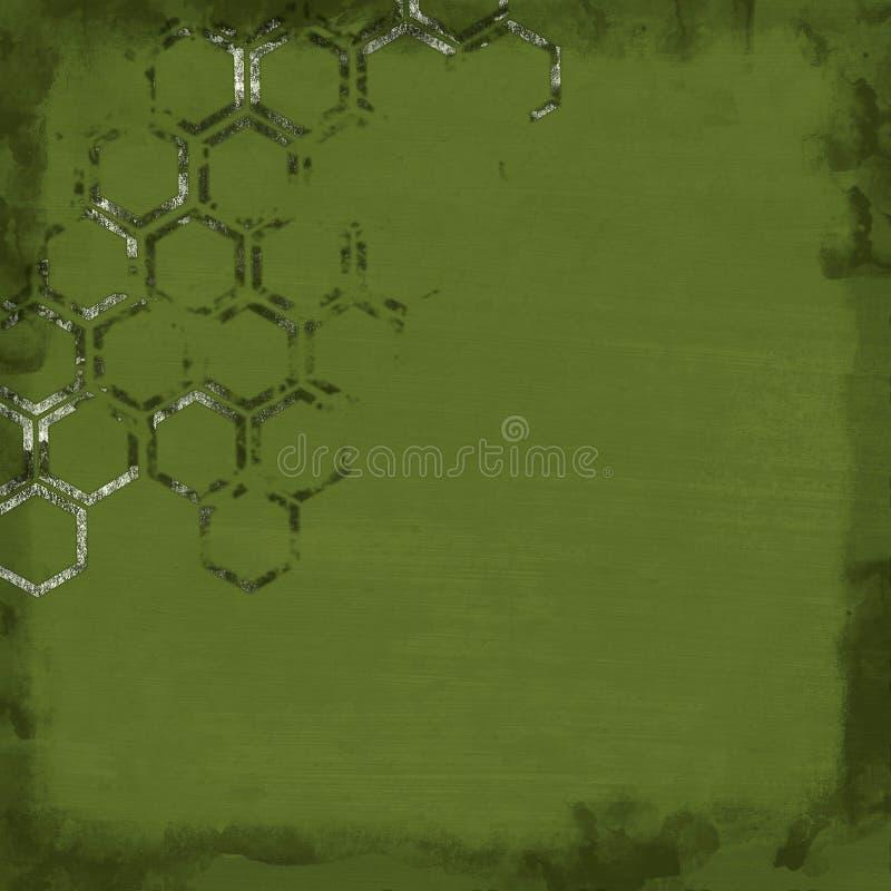 Abstrakter Weinlese grunge Hintergrund vektor abbildung
