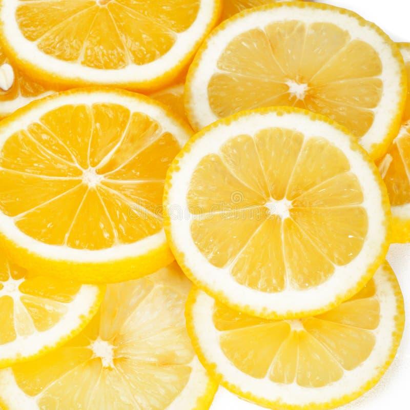 Abstrakter Zitronenhintergrund lizenzfreies stockfoto