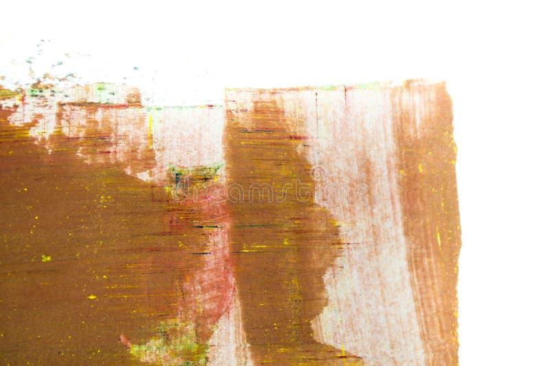 abstraktes Aquarell auf weißem Hintergrund vektor abbildung