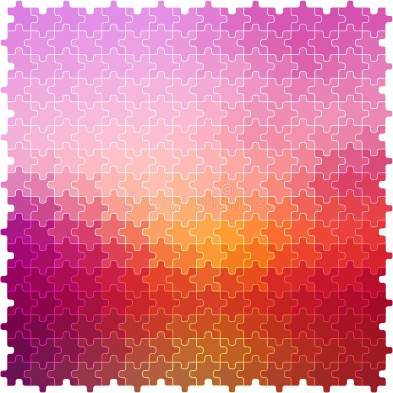 Abstraktes backgroubnd puzle effect02 vektor abbildung