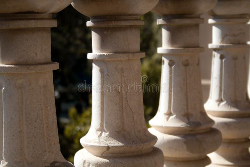 Abstraktes Bild des Ciutadella-Parks lizenzfreies stockbild