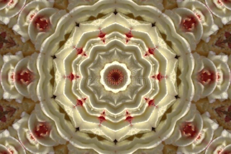 Abstraktes Bild eines Kreises lizenzfreie stockfotografie