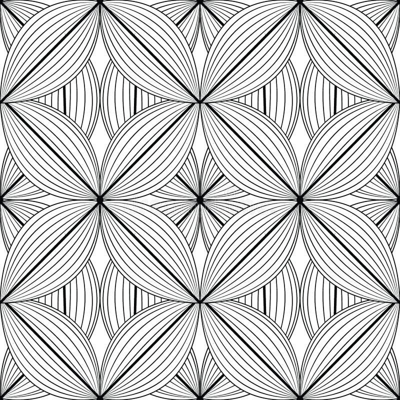 Abstraktes Blattmuster 02 lizenzfreie abbildung