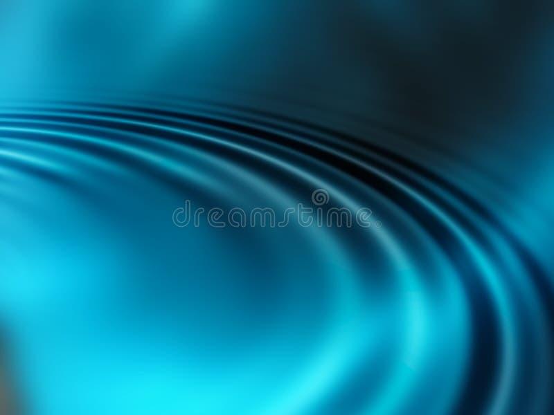 Abstraktes Blau stock abbildung