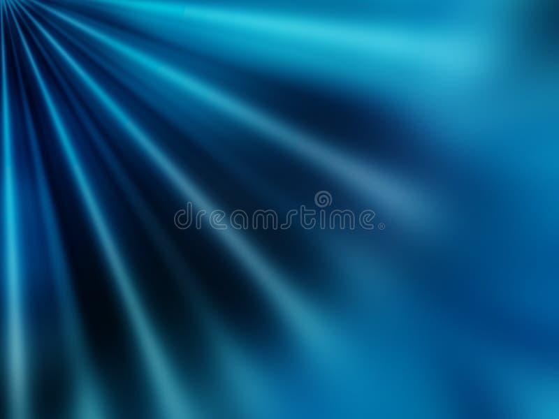 Abstraktes Blau lizenzfreie abbildung