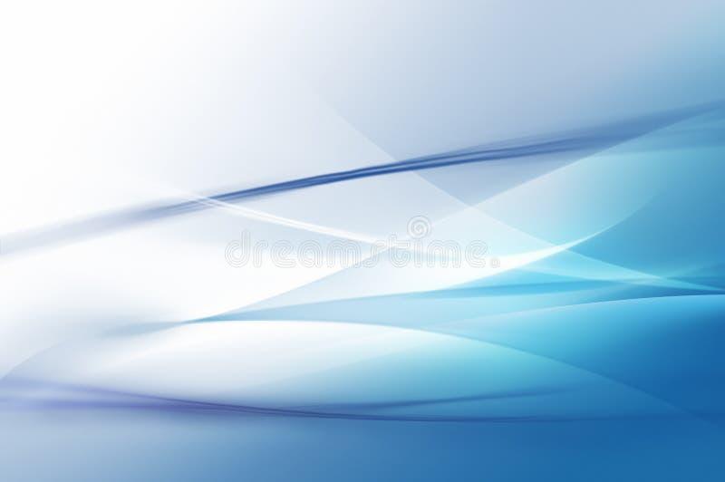 Abstraktes Blau verschleiert Hintergrundbeschaffenheit lizenzfreie abbildung