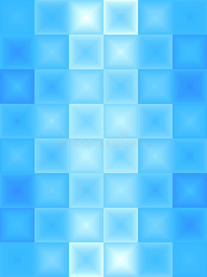 Abstraktes blaues Eis lizenzfreie abbildung