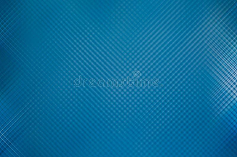 Abstraktes blaues Schachbrettmuster als Hintergrund stockbild